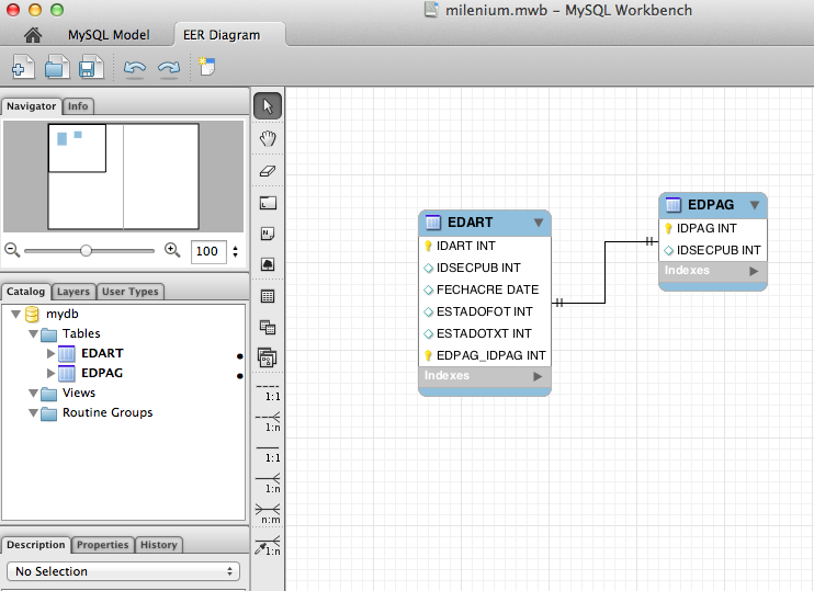 Programa Para Crear Modelos Entidad Relaci N En Os X Al