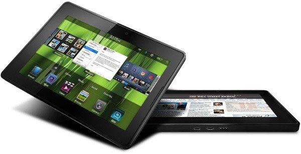 Tomar pantallazos con Blackberry Playbook