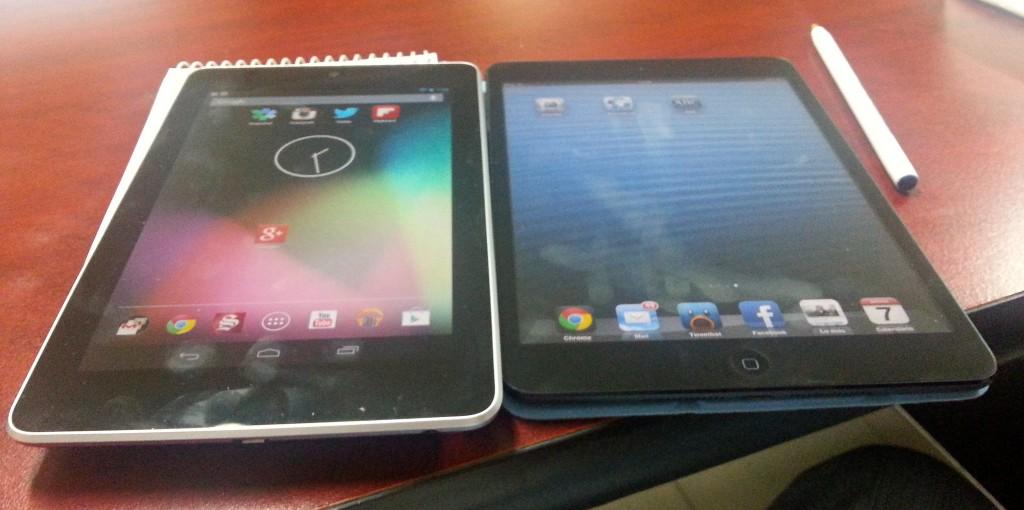 Nexus 7 o iPad mini