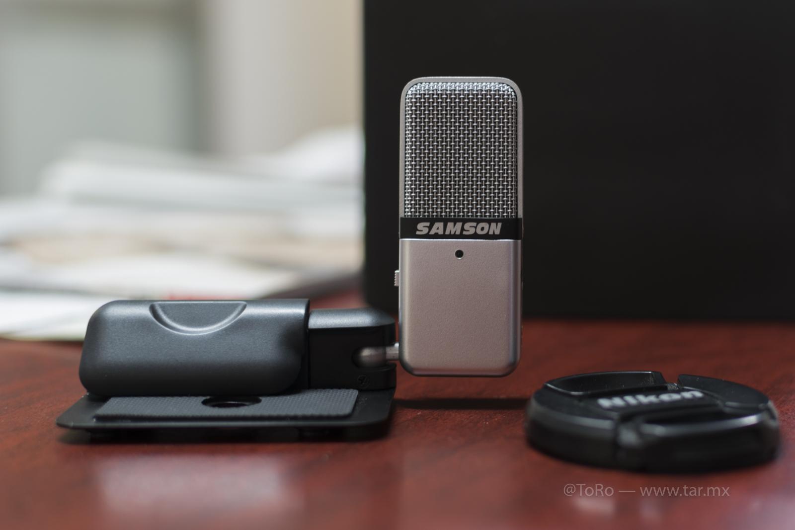 Micrófono Samson Go Mic adquirido en Amazon MX