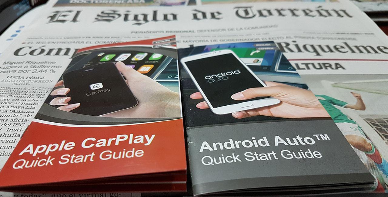 Apple CarPlay y Android Auto en Kia Rio