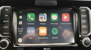 Portada iOS en Kia Rio